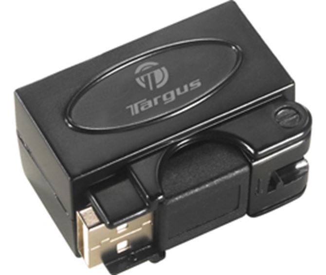 Picture of Micro Travel USB 2.0 4-port hub with swivel connector