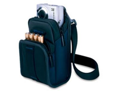 Picture of Classic Medium Camera Case -Navy/Black