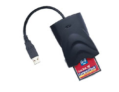 Picture of USB Memory Card Reader CF/SM