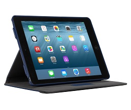 Picture of Targus Versavu™ Slim 360 Degree Rotating Cover for Apple iPad Air 2 - Navy Blue