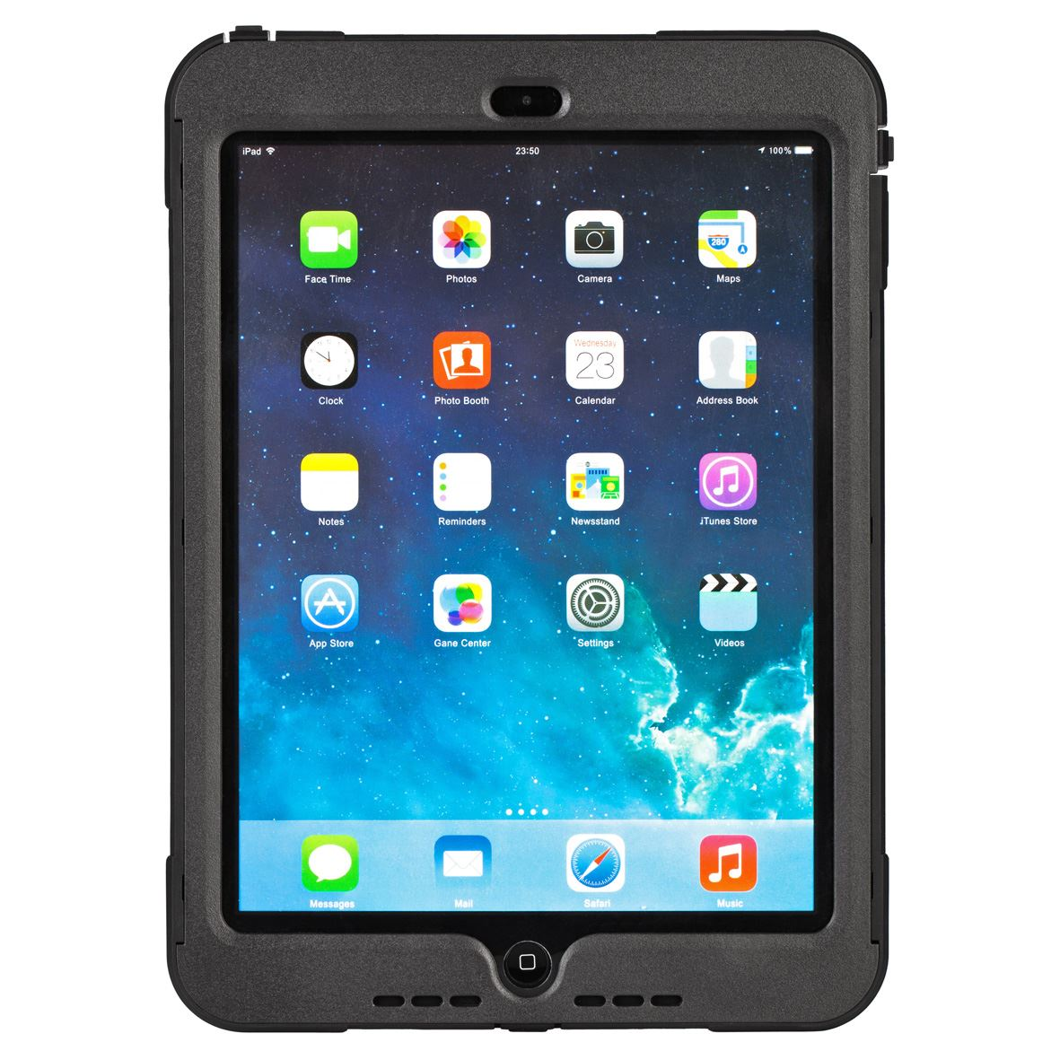 targus safeport apple ipad air protection case stand dust screen protector black ebay. Black Bedroom Furniture Sets. Home Design Ideas