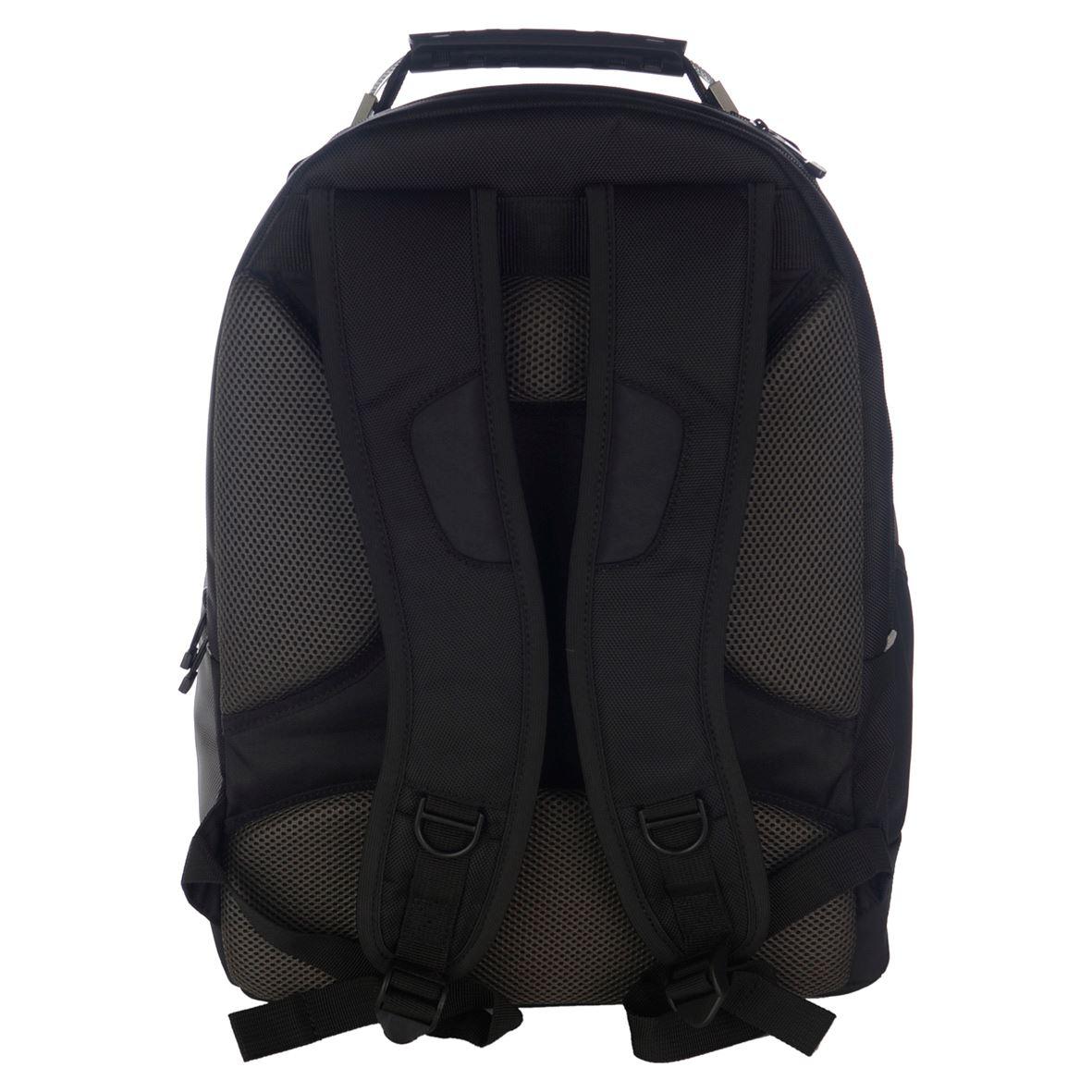 drifter sac dos pour ordinateur portable 17 3 noir gris. Black Bedroom Furniture Sets. Home Design Ideas