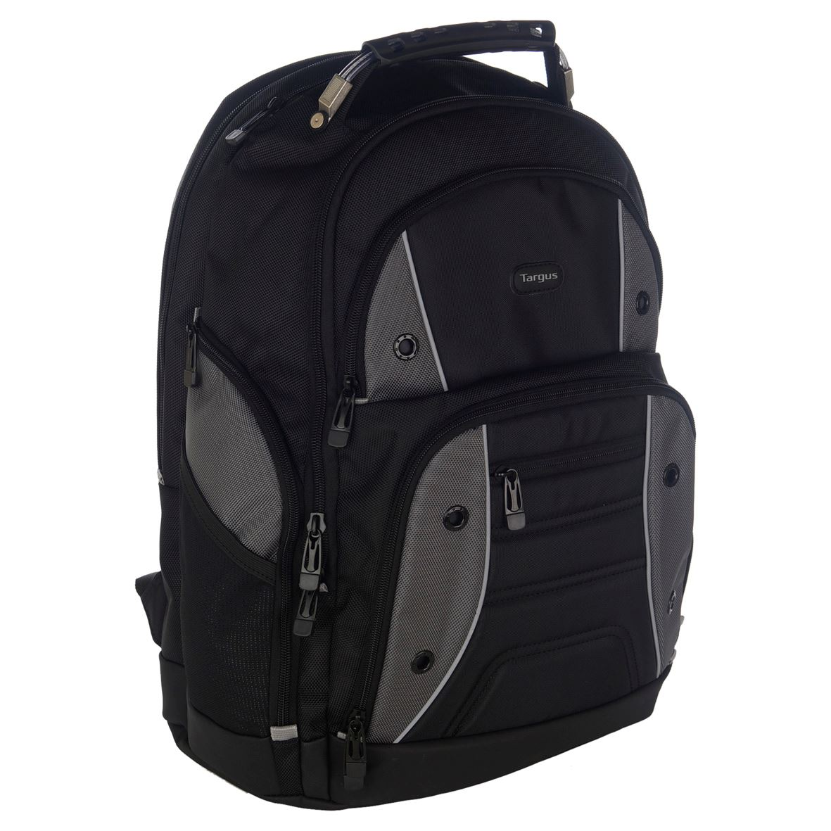 drifter 17 3 laptop backpack black grey. Black Bedroom Furniture Sets. Home Design Ideas