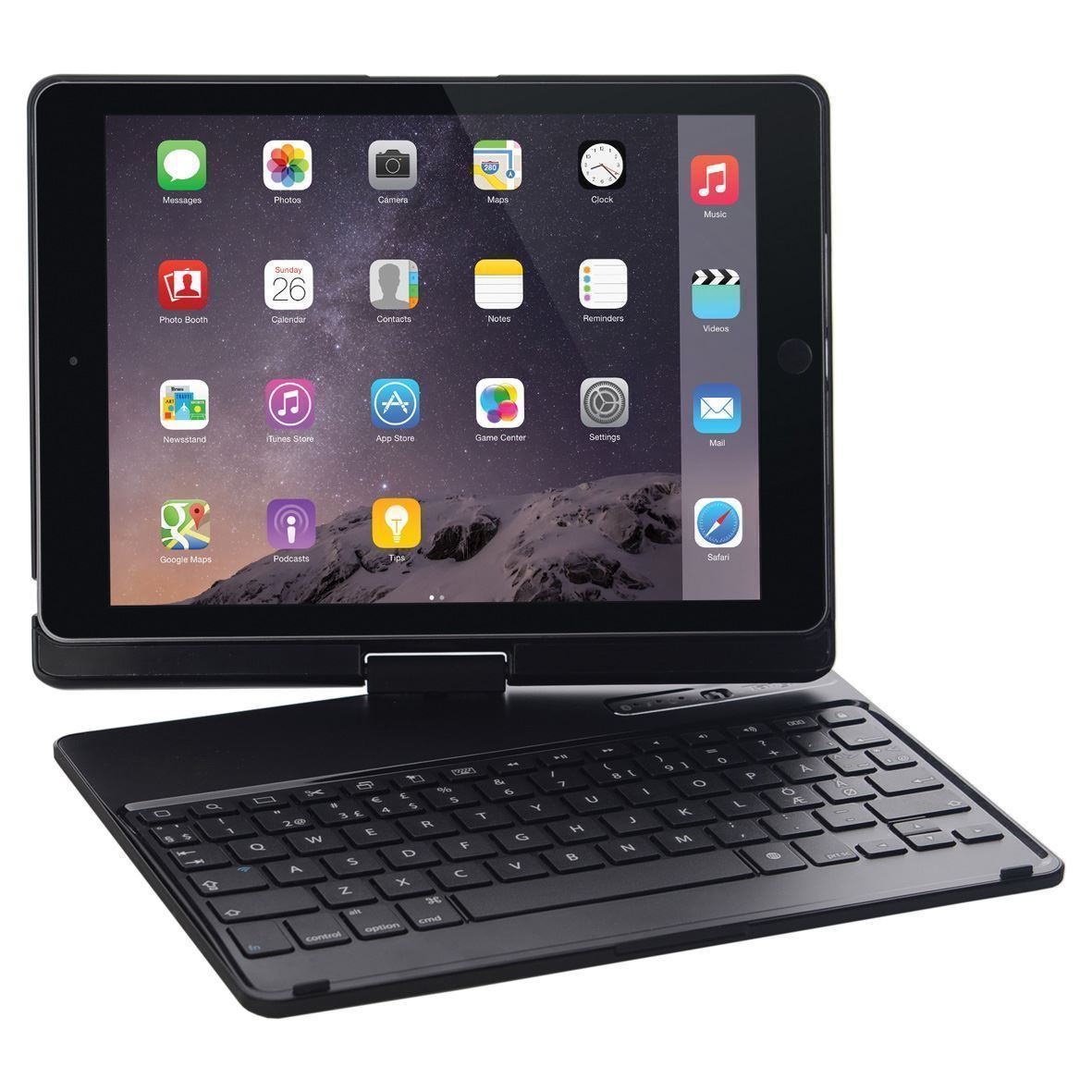 versatype hard shell keyboard case arabic layout for ipad air 2 black. Black Bedroom Furniture Sets. Home Design Ideas