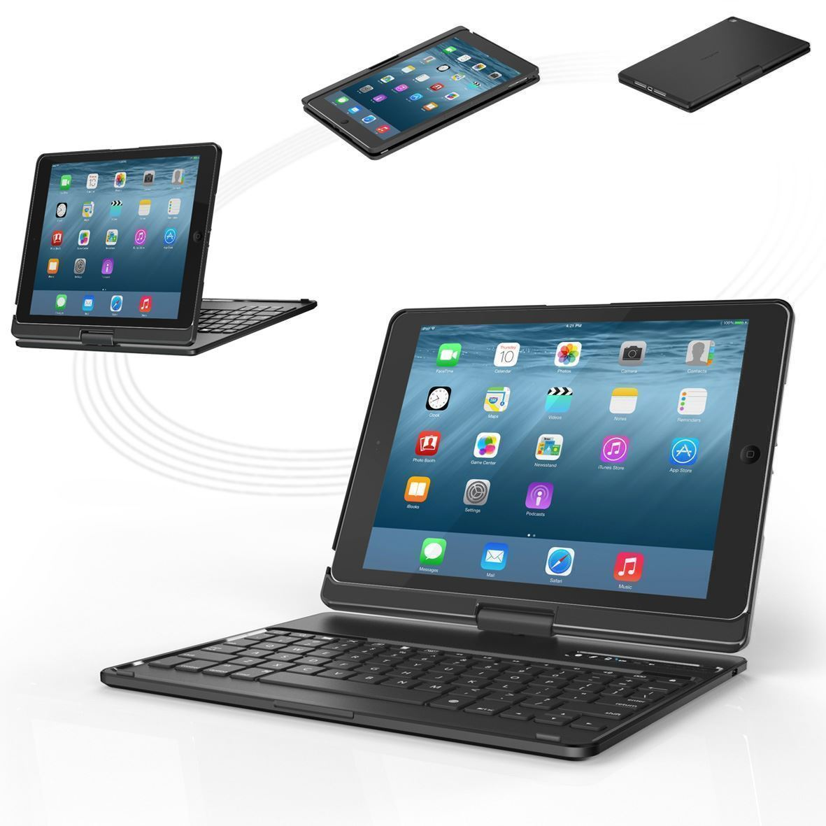 VersaType™ Hard Shell Keyboard Case (Arabic Layout) for iPad
