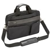 "Picture of Lomax Ultrabook™ 13.3"" Topload Laptop Case - Black"