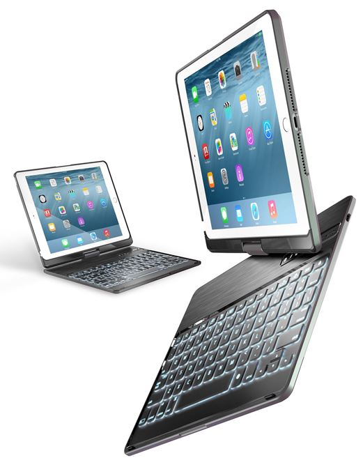 Picture of VersaType™ 4-in-1 Keyboard Case with Power Bank & Backlit Keys for iPad Air/iPad Air 2