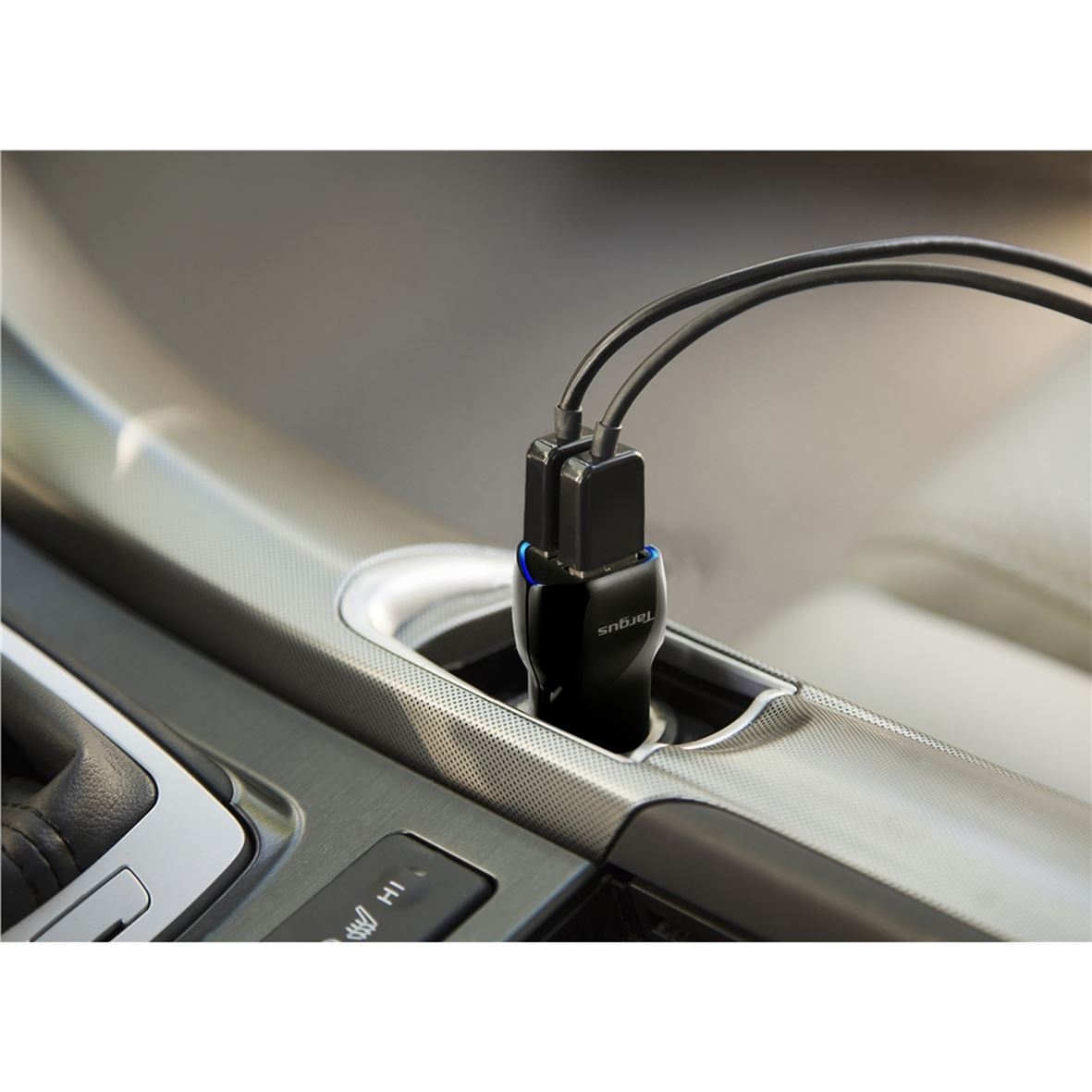 Dual Usb Car Charger For Media Tablets Amp Mobile Phones