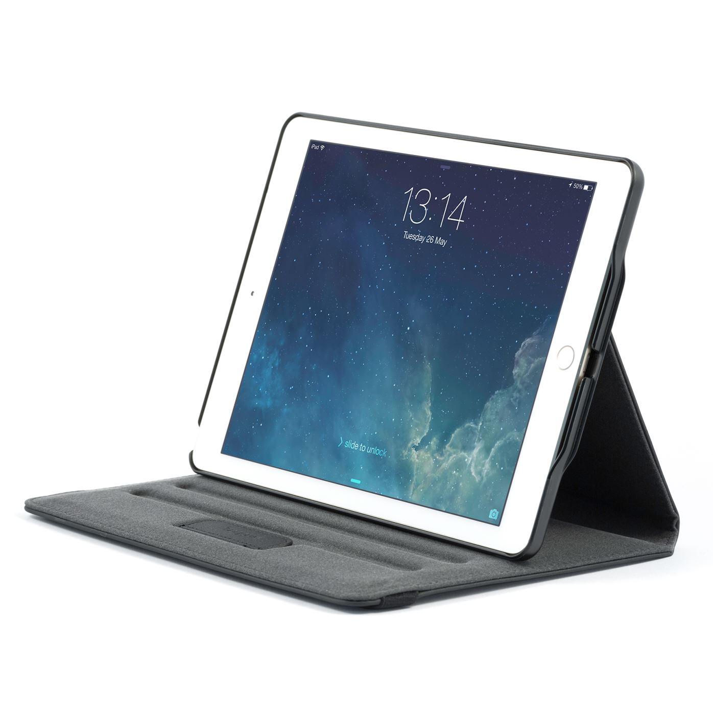 versavu tui rotatif 360 degr s pour apple ipad air 2 noir. Black Bedroom Furniture Sets. Home Design Ideas
