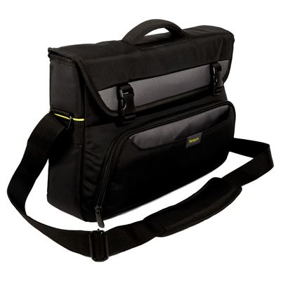 "Picture of CityGear 15-17.3"" Laptop Messenger - Black"