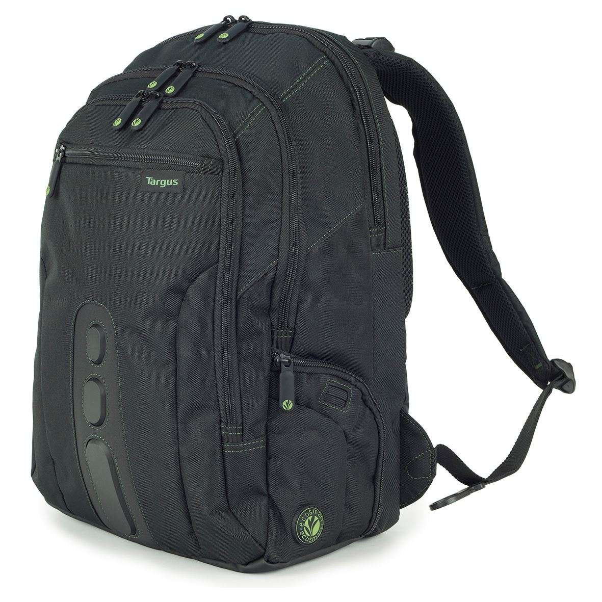 ecospruce sac dos pour ordinateur portable 15 6 noir. Black Bedroom Furniture Sets. Home Design Ideas