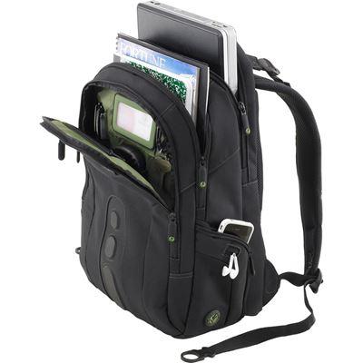 """Bild von EcoSpruce Laptop-Rucksack 15,6"""" - Schwarz"""
