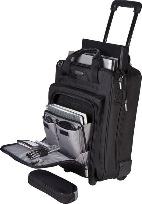 17 Corporate Traveler Vertical Rolling Laptop Case