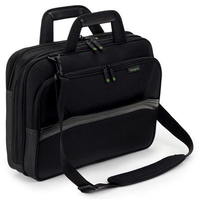 """Imagen de Maletín de carga superior EcoSpruce™ de Targus para portátiles de 15,6"""" - Negro"""
