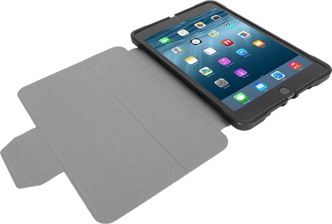 Picture of 3D Protection Case for iPad Mini 4, 3, 2, iPad Mini (Black)