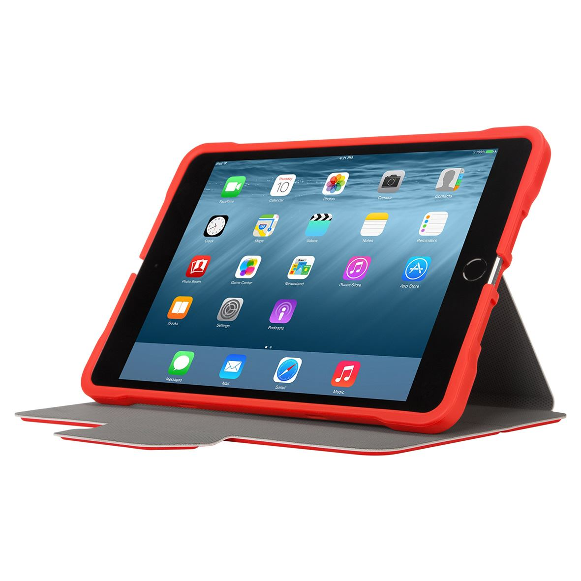 3d protection case for ipad mini 4 3 2 1 red. Black Bedroom Furniture Sets. Home Design Ideas