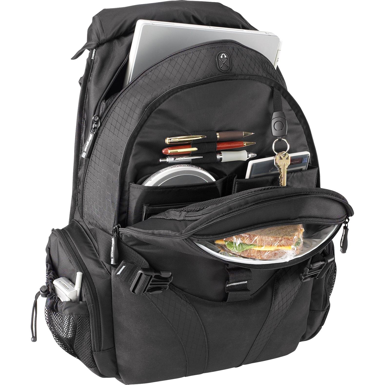 Voyager Laptop Backpack Black