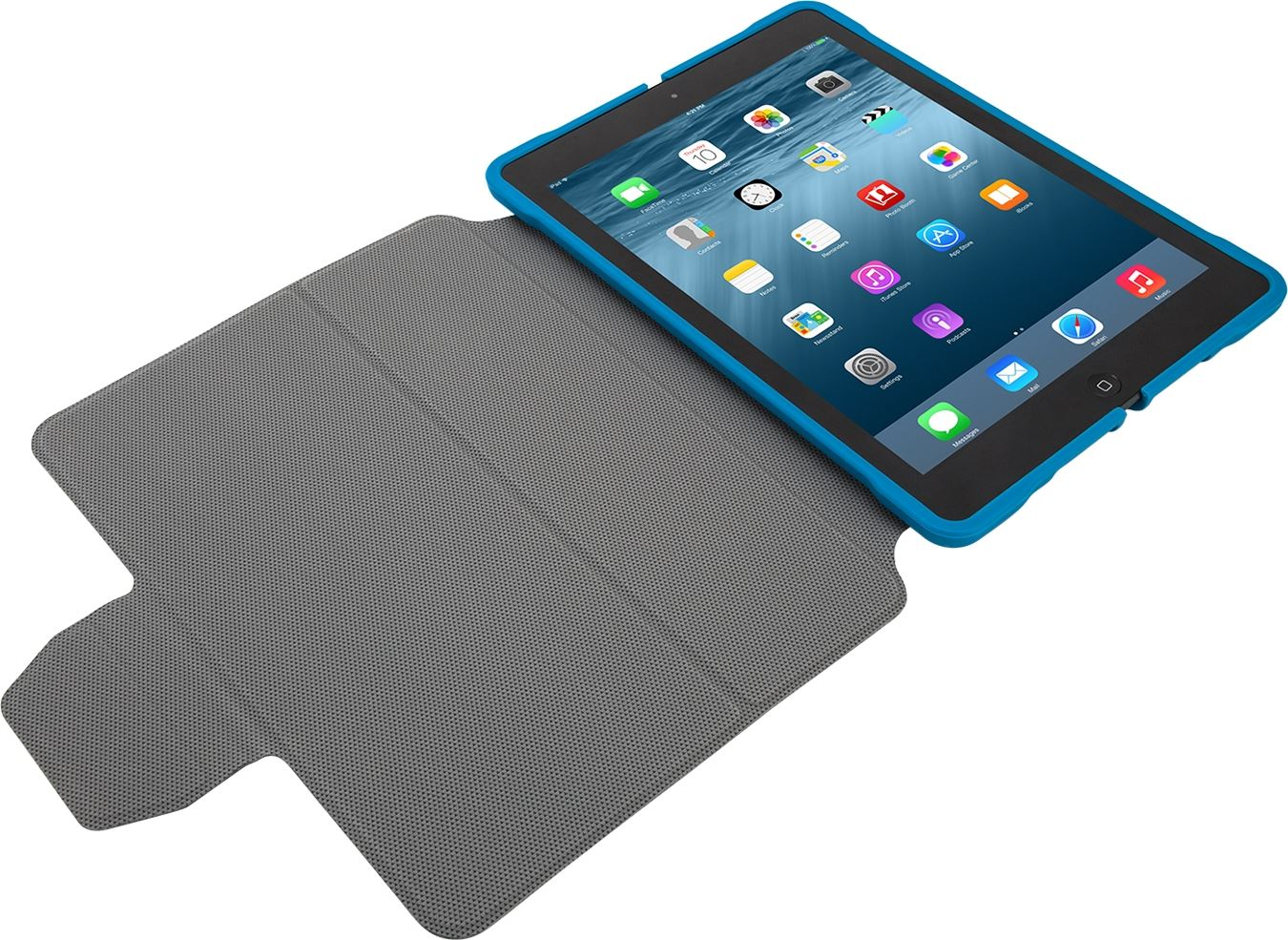 3d protection case for ipad air ipad air 2 thz61202gl blue tablet cases targus. Black Bedroom Furniture Sets. Home Design Ideas