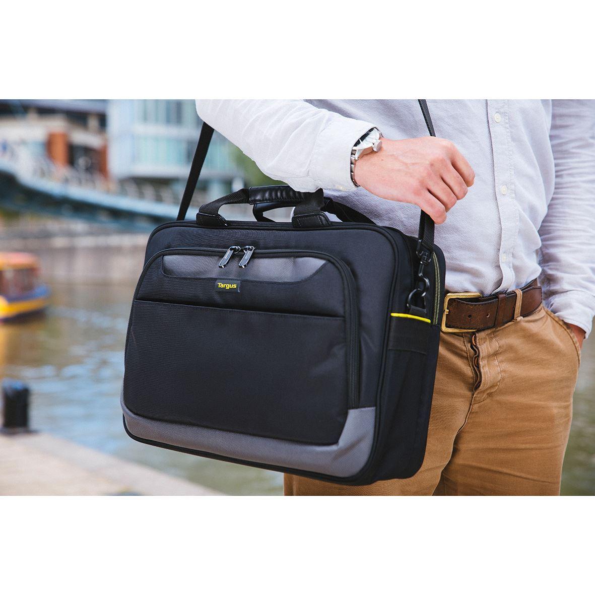 "Picture of CityGear 16-17.3"" Topload Laptop Case - Black"