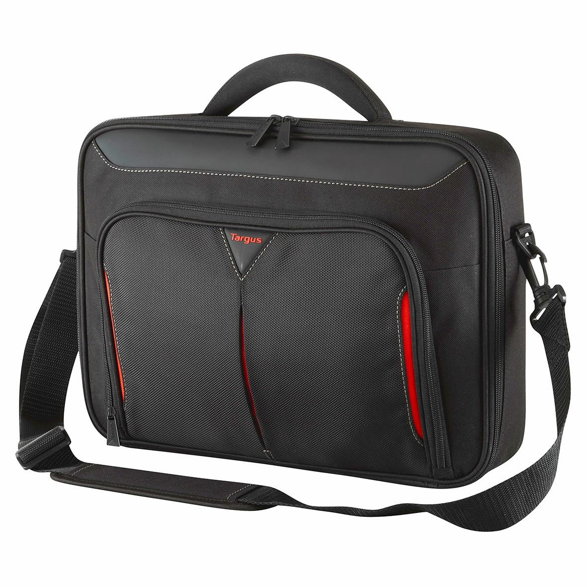 Classic 14 Clamshell Case Black Red