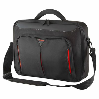 "Picture of Classic 14"" Clamshell Case - Black/Red"