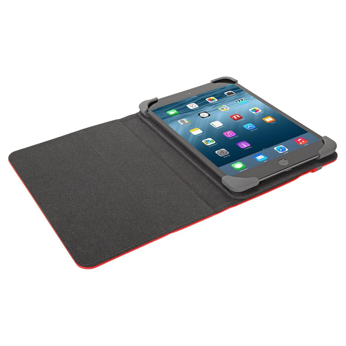 safe fit protective case for ipad mini 4 3 2 and ipad mini red. Black Bedroom Furniture Sets. Home Design Ideas