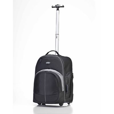 "Picture of Targus 16"" Compact Rolling Backpack (Black)"