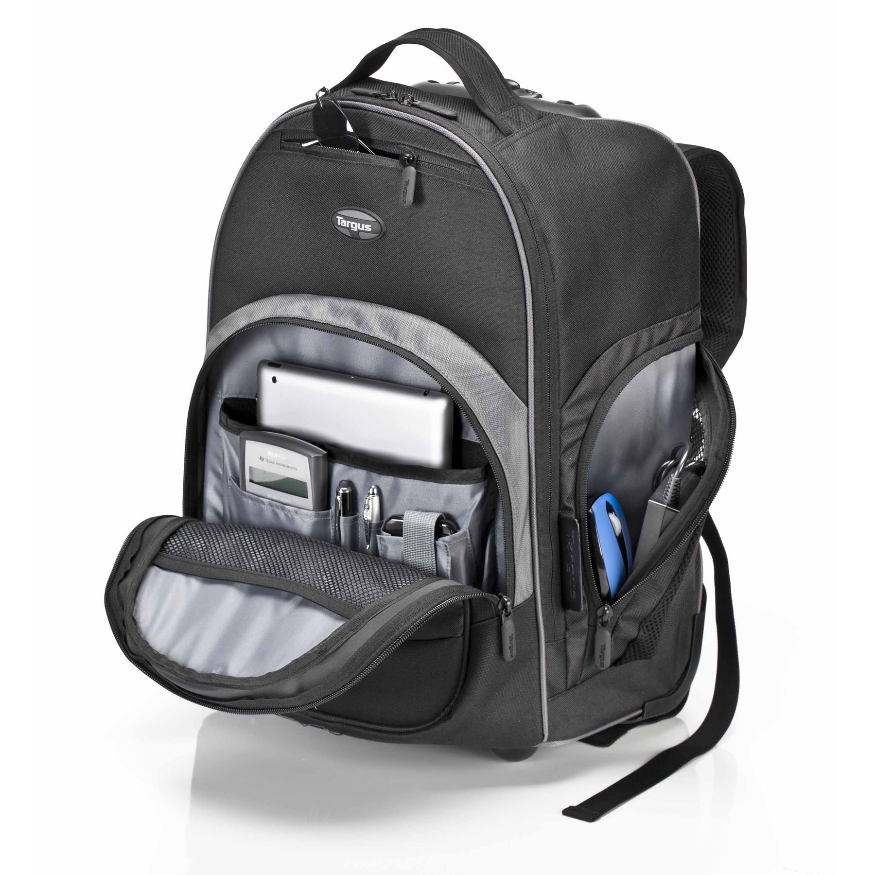 """Targus 16"""" Compact Rolling Backpack (Black)"""