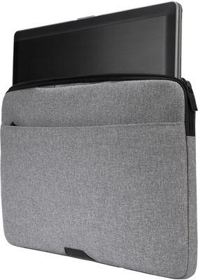"Picture of 15.6"" Geo II sleeve - Light Grey"