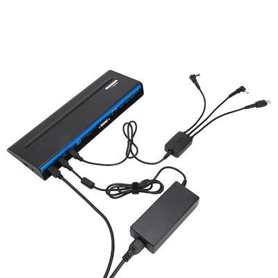 Imagen de Cable Hydra de Targus en color negro de carga mediante CC tridireccional (paquetes de 25 piezas sin acopladores)