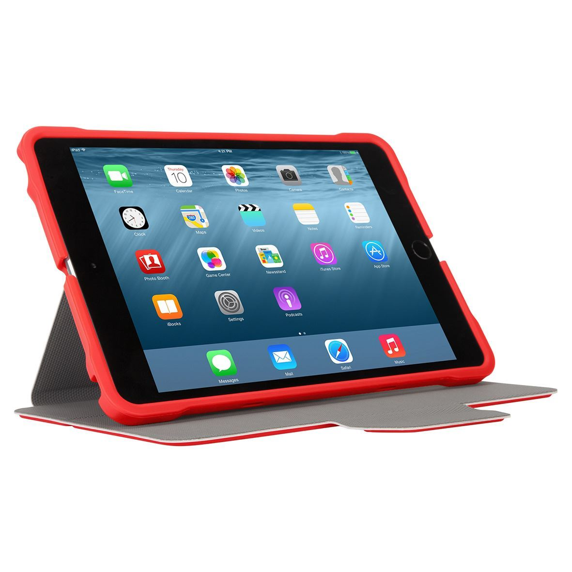 3d Protection Case For Ipad Mini 4 3 2 1 Red