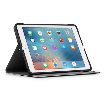 "Bild von Evervu iPad (2017), 9,7"" iPad Pro, iPad Air 2, iPad Air Tablet-Hülle - Schwarz"