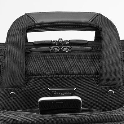 """Imagen de Maletín Corporate Traveller de carga superior y alta capacidad de Targus para portátiles de hasta 15,6"""" - Negro"""
