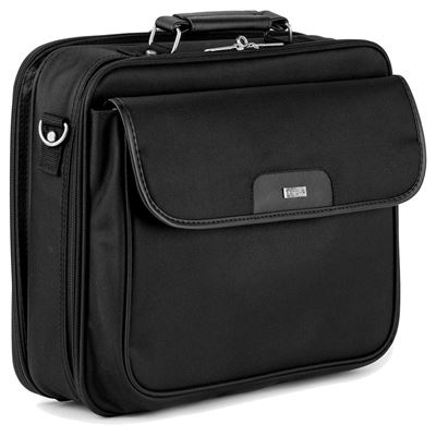 Notepac plus 15 6 clamshell case black for Clamshell casing