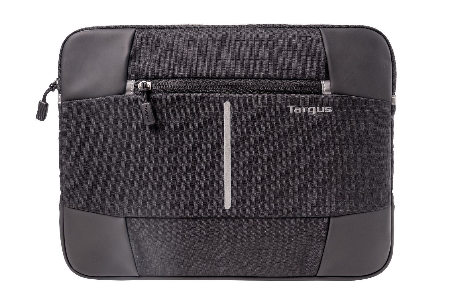 "Picture of Targus 12.1"" Bex II Laptop Sleeve - Black with black trim"