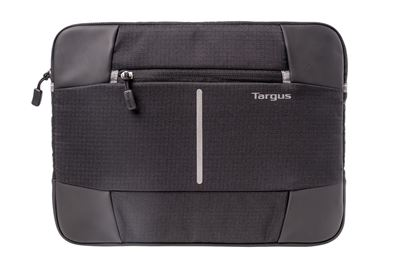 "Picture of Targus 12.1"" Bex II Laptop Sleeve - Black with black trim"