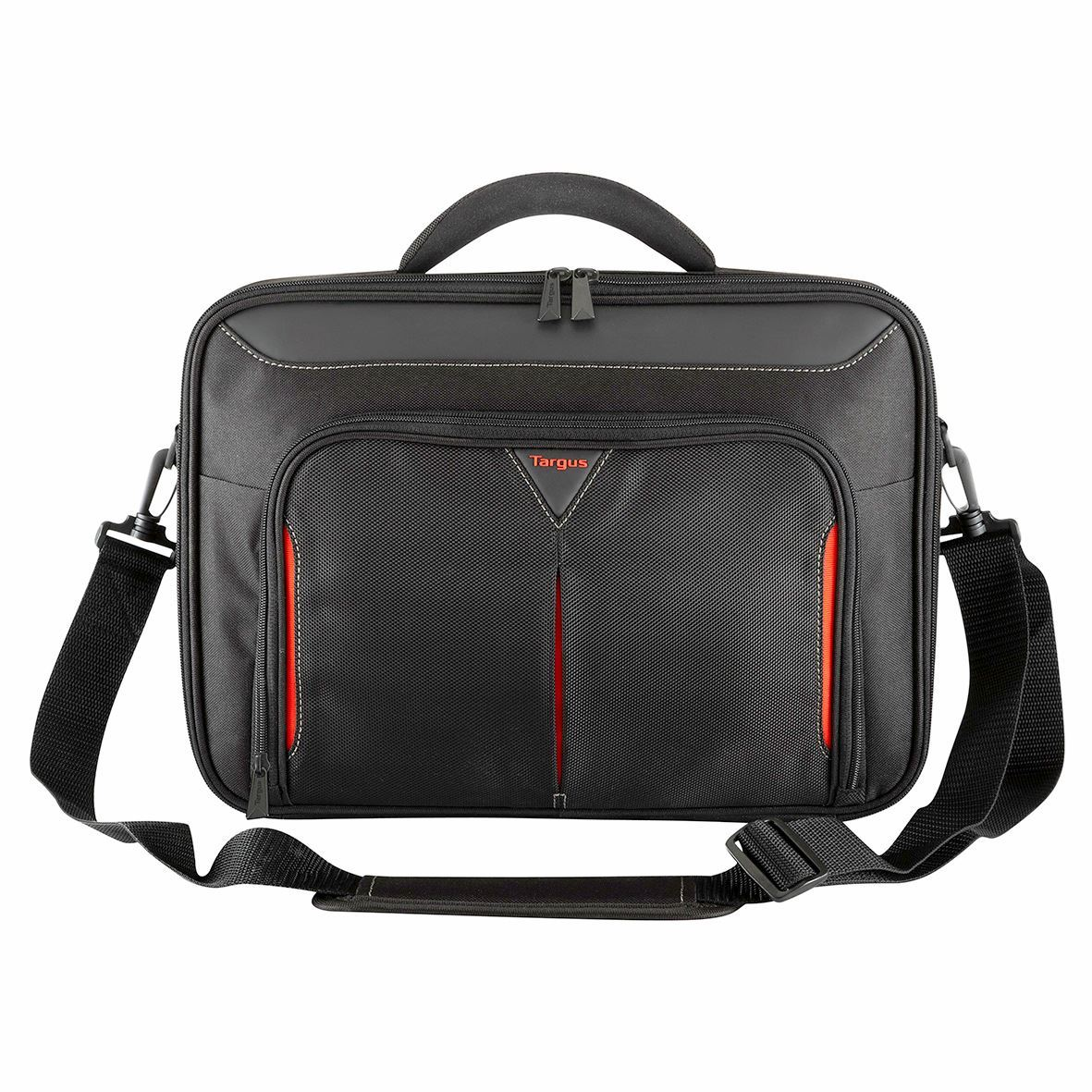"""Picture of Classic 13-14.3"""" Clamshell Case - Black/Red"""