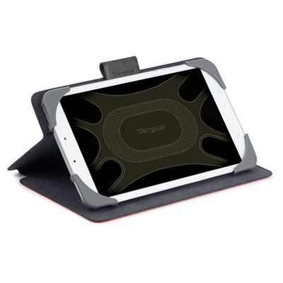 Picture of SafeFit 9-10 inch Rotating Universal Tablet Case - Red