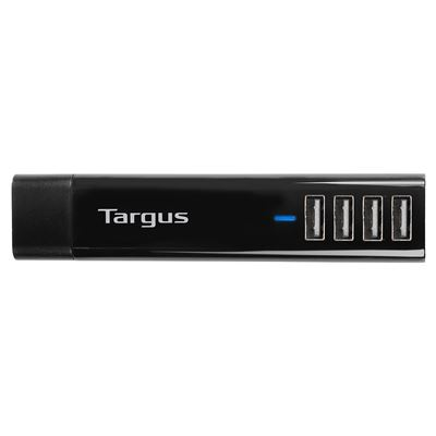Picture of 4-Way USB Fast Charger - Black
