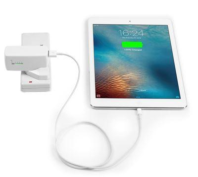 Bild von USB-Steckerladegerät + Power Bank für Smartphone und Tablet - Weiß
