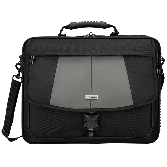 "Picture of 17"" Blacktop Deluxe Laptop Case w/ Dome Protection"