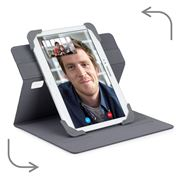 Picture of Fit N' Grip 9-10 inch Rotating Universal Tablet Case - Grey