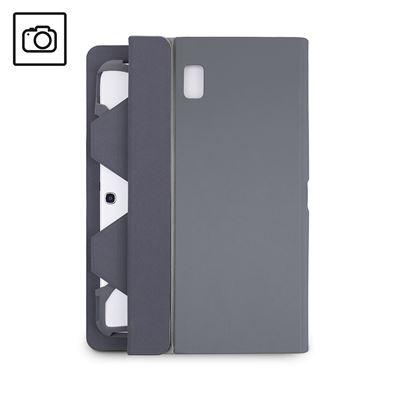 Bild von Fit N Grip universelle drehbare Tablet-Hülle für 9-10 Zoll - Grau