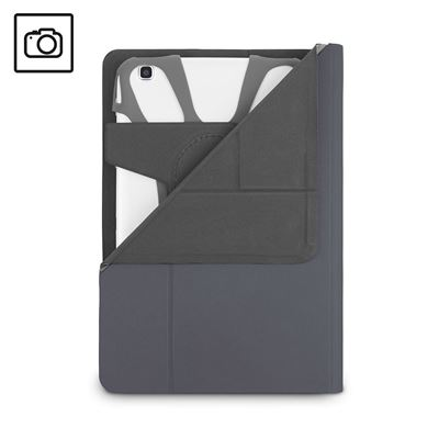 Picture of Fit N' Grip 7-8 inch Rotating Universal Tablet Case - Grey