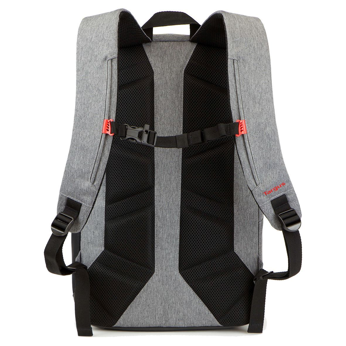 urban commuter 15 6 laptop backpack grey. Black Bedroom Furniture Sets. Home Design Ideas