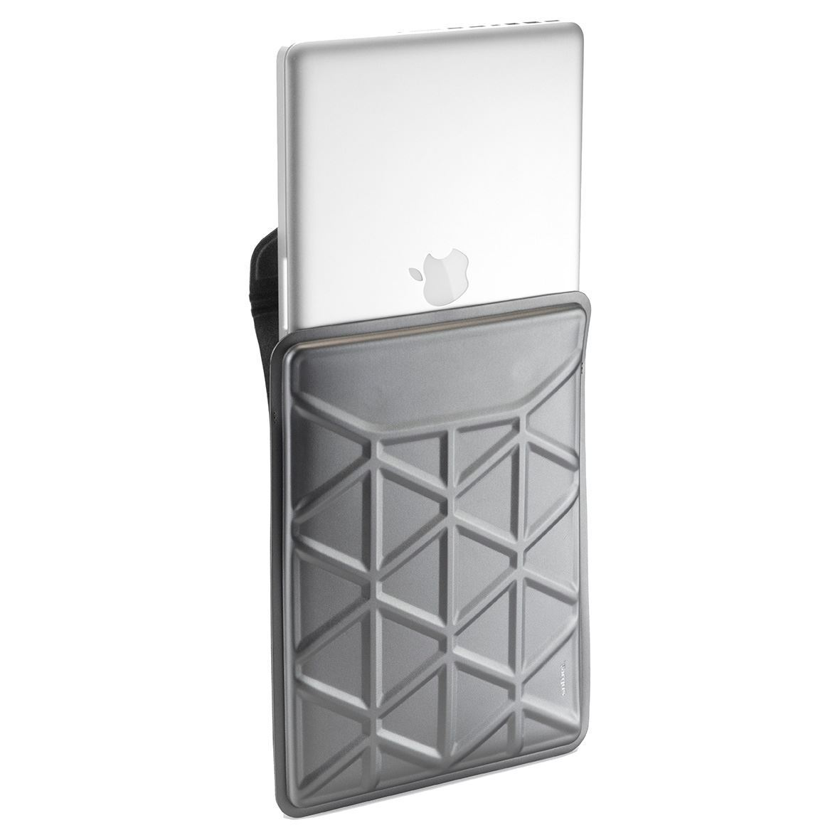 Pro tek 13 3 inch laptop sleeve silver for Housse macbook 12