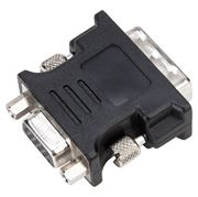 Picture of DVI-I Male to VGA Female Adapter - Black