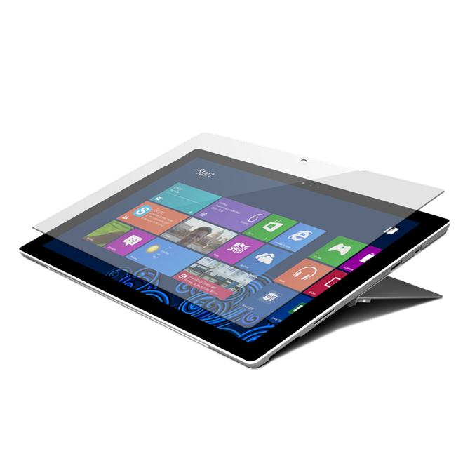 Tempered Glass Screen Protector for Microsoft Surface™ Pro (2017) and Surface Pro 4