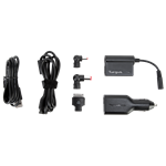 90W DC Notebook and Tablet Car Charger for Dell - (APD038US)