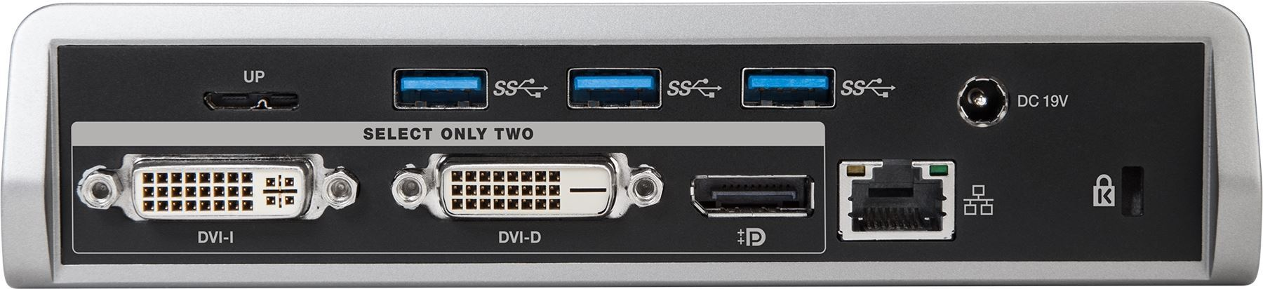 Picture of USB 3.0 1K-4K Dual Video Docking Station